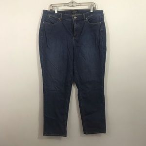 Talbots flawless five pocket ankle jeans